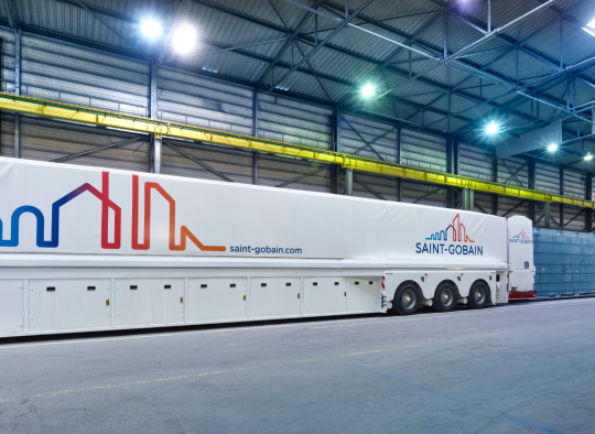 Saint-Gobain Overlength logistics